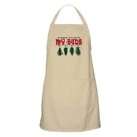 Hangin Out with My Buds BBQ Apron