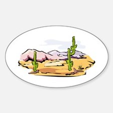 CACTUS_0923 Oval Decal