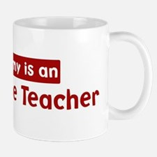 Mom is a Agriculture Teacher Mug