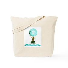 Hula Moon Tote Bag