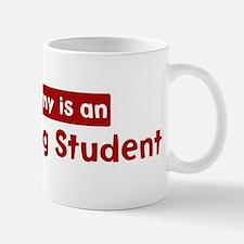 Mom is a Advertising Student Mug