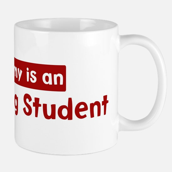 Mom is a Advertising Student Mug