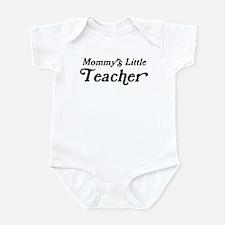Mommys Little Teacher Infant Bodysuit