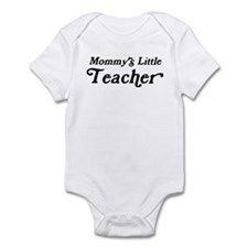 Mommys Little Teacher Onesie