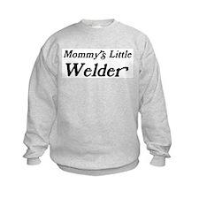 Mommys Little Welder Sweatshirt