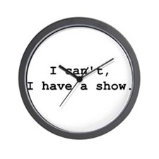 Funny Theater director Wall Clock