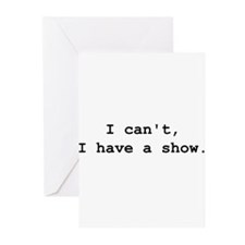 Cute Acting Greeting Cards (Pk of 10)