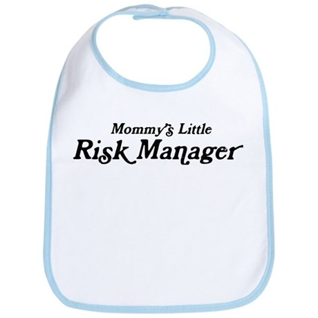 Mommys Little Risk Manager Bib
