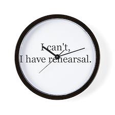 Funny Theatre director Wall Clock