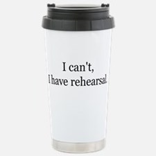 Cute Rehearsal Travel Mug
