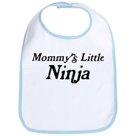 Mommys Little Ninja Bib
