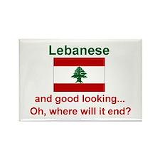 Good Looking Lebanese Magnet (3x2)