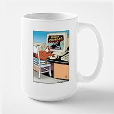 Road Crosser Large Mug