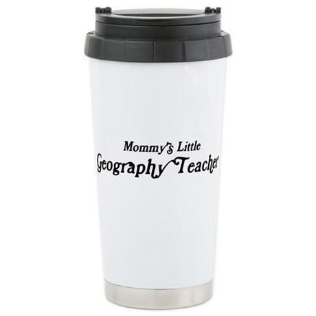 Mommys Little Geography Teach Stainless Steel Trav