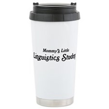 Mommys Little Linguistics Stu Travel Mug