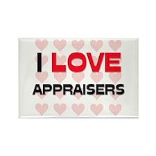 I LOVE APPRAISERS Rectangle Magnet