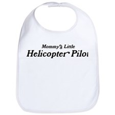Mommys Little Helicopter Pilo Bib