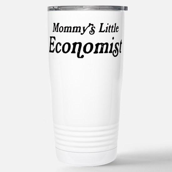 Mommys Little Economist Stainless Steel Travel Mug