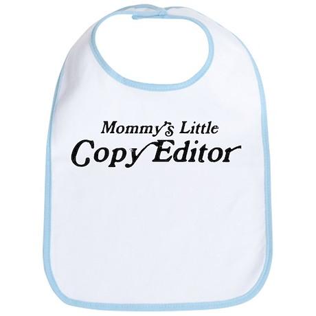 Mommys Little Copy Editor Bib