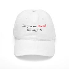 Rachel Fan Baseball Cap