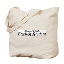 Mommys Little English Student Tote Bag