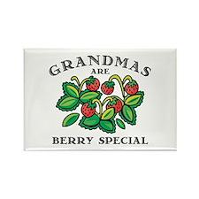 Berry Special Grandma Rectangle Magnet