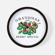 Berry Special Grandma Wall Clock