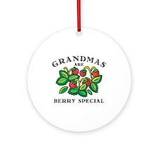 Berry Special Grandma Ornament (Round)