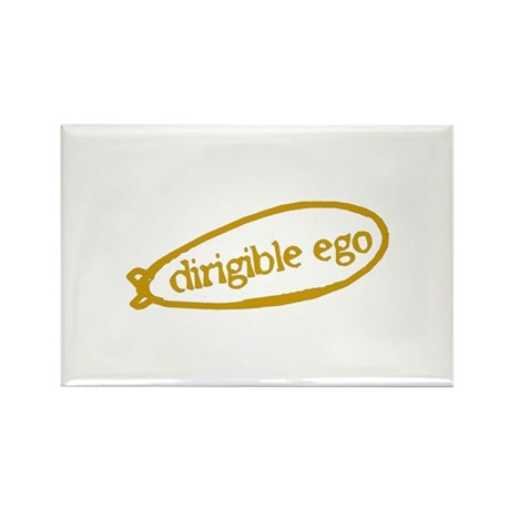 Dirigible Rectangle Magnet (10 pack)
