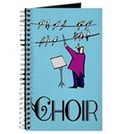 Choir Music Journal Practice Notebook