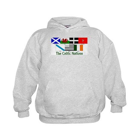 Celtic Nations Kids Hoodie
