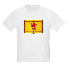 Scotland Lion Rampant Kids T-Shirt