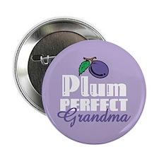 "Plum Perfect Grandma 2.25"" Button"