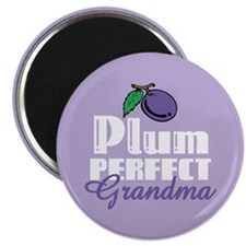 Plum Perfect Grandma Magnet