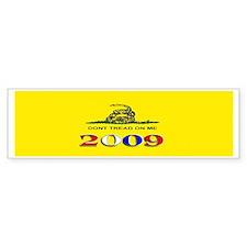 Gadsden Flag 2009 Bumper Bumper Sticker