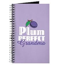 Plum Perfect Grandma Journal