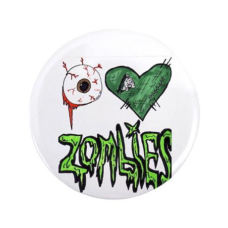 """eye heart zombies"" art by Raye 3.5&"