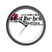 """""""What The Hell"""" - Wall Clock"""
