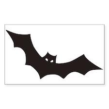 Bat Rectangle Decal