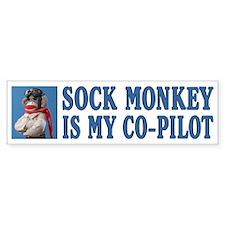 Co-pilot Bumper Bumper Sticker