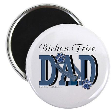 Bichon Frise Dad Magnet