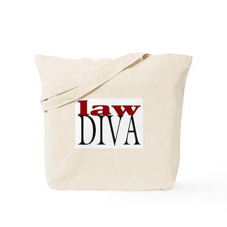 Law Diva Tote Bag