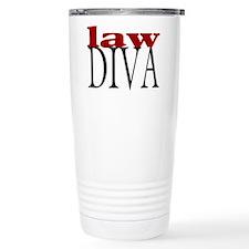 Law Diva Thermos Mug