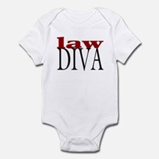 Law Diva Infant Bodysuit