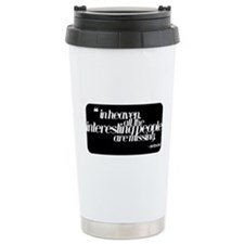 Cute Humour Stainless Steel Travel Mug