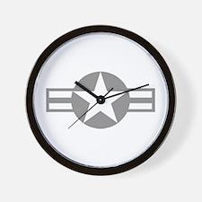 US Aircraft Wall Clock