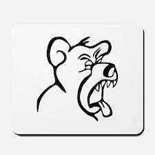 Scream Bear Mousepad