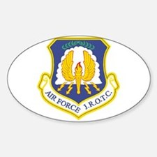 AFJROTC Oval Decal