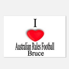 Australian Rules3 Postcards (Package of 8)