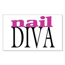 Nail Diva Rectangle Decal
